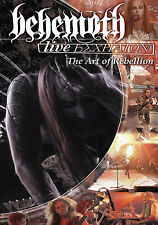 DVD BEHEMOTH Live Eschaton The Art Of Rebelion