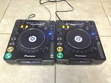 Pair of Pioneer CDJ-1000 MK3 CD DJ Turntables