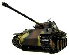 Taigen dipinto a mano RC TANK-Upgrade In Metallo-Panther G - 2,4 GHz