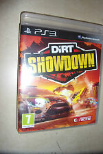 1 X Sony Playstation 3 PS3 Juego en Caja Dirt Showdown disco Pal Excelente gwo