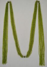 "Curtain/Chair Tieback-~ 70"" Long Hand Beaded, Window Necklace 2 Colors."