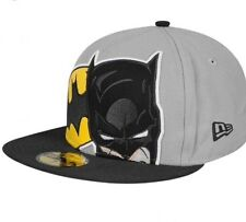 Batman New Era fitted 59 fifty cap 7 1/2 rare