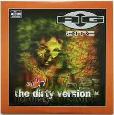 AG - The Dirty Version 2xLP USA 1999  Silva Dom Records AG8888  D.I.T.C.
