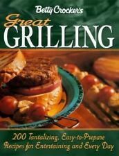 Betty Crocker's Great Grilling Cookbook Betty Crocker Editors Hardcover