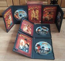 Indiana Jones The Complete Collection. DVD Movie Films.The Adventures.4 Disc Box