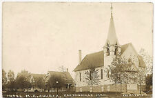 Carsonville MICHIGAN, M E CHURCH, SUPER CLEAR 1912 PESHA RPPC