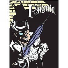 """BATMAN """"THE PENGUIN"""" CUCINA FRIGO CALAMITA Alta Qualità Di Latta Retrò DC Comics"""
