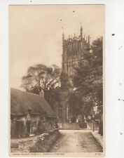 Parish Church From NE Chipping Campden Vintage Postcard 799a