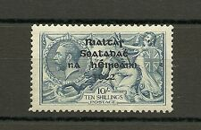 Top Quality Ireland 1922 Thom Seahorse 10s SG46 sc 38 MNH Unmounted CV$3220.00+