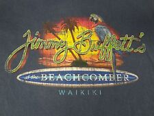 JIMMY BUFFETT AT THE BEACHCOMBER - WAIKIKI MARGARITAVILLE - MEDBLUE T-SHIRT B165