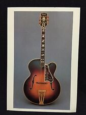 1941 Gibson Super 400 Premiere Orchestra Guitar Post Card FS