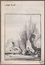 Vintage Issue for October 1974 of the Fantasy Fanzine AMRA Krenkel art, De Camp