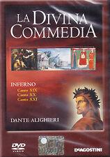 LA DIVINA COMMEDIA. INFERNO. CANTO XIX - XX - XXI - DVD DE AGOSTINI