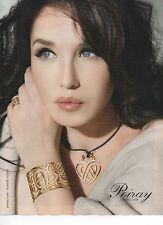 Publicité 2012 poiray joaillier isabelle adjani