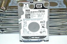 "New Western Digital WD5000LPLX 500GB 7200 RPM SATA 2.5"" 7mm Hard Drive HP Dell"
