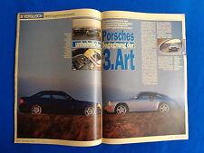 Autobild 93/05 BMW M3 E36 und Porsche Carrera 2