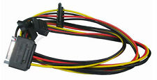 SATA Power Splitter cable lead 1 Male to 3 Way Female
