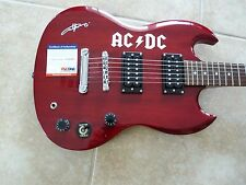 Angus Young AC/DC Body Signed Autograph Guitar Epiphone SG Special PSA Certified