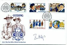 Guiding cover 1985 SIGNED Ian Hislop (Private Eye editor, broadcaster)