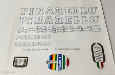 PINARELLO decal set sticker for complete bicycle - silk screen - free shipping