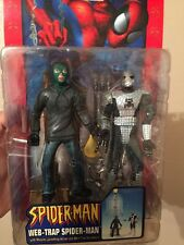 "MARVEL LEGENDS SPIDER-MAN CLASSICS WEB-TRAP INFINITE SERIES 6"" INCH X-men"