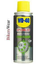WD40 wd-40 Chain Cleaner 200ml  Specialist Motorbike Range Quick Drying