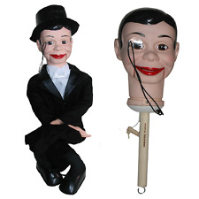 Charlie McCarthy upgraded Semi-Pro Ventriloquist Doll Puppet Dummy - BUY DIRECT