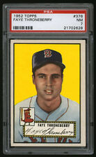 1952 Topps #376 Faye Thorneberry High Number PSA 7