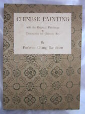 Chang Dai-Chien Chinese Painting  Book  1963