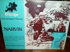 GDW Europa Narvik (2nd Edition) Unpunched, Unplayed
