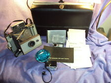 Vtg Polaroid 103 Land Camera Case Owners Manual Flash Rare 192 Timer AS-IS READ