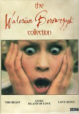 Walerian Borowczyk Collection DVD set Cult Epics Gotto Island of Love Beast