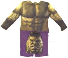 Marvel Incredible Hulk Boy's Full Body Halloween Party Costume Size 1 Ages 5/6