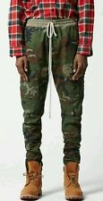 Pacsun FOG Fear Of God Camouflage Drawstring Cargo Pants size Small