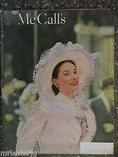 McCall's Magazine  April 1947  Bauman Greene Cover  VINTAGE ADS  Easter Fashions