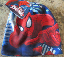 NEW Marvel Ultimate Spider-Man Graphic Superhero Knit Kid's Beanie Hat- NWT
