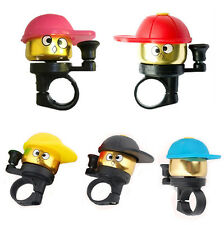 Kids Aluminium Alloy Bell Cute Mini Small Bell Bike Bicycle Handlebar Cup Horn