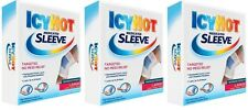 3 Pack Icy Hot Maximum Strength Medicated Sleeve Ankles Elbows Knees, Large 3 ea