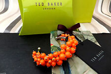 TED BAKER Genuine Stunning DYLIS Pearl Cluster Cuff Bracelet BNWT