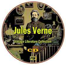 Jules Verne - Classic Literature Collection - 60 PDF Books on CD