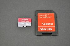 SanDisk Ultra 8GB Micro SD Memory Card with SDC Adapter DH9061