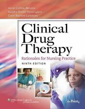 Clinical Drug Therapy : Rationales for Nursing Practice by Anne Collins Abrams,