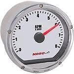 Motorcycle Tachometer Koso North America Dial Face  - BA035103