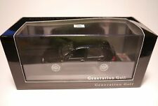 Volkswagen VW Golf 4 IV Generation GTi schwarz noir black, Minichamps 1:43 boxed