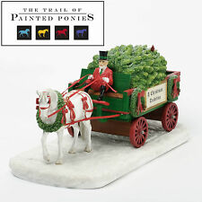 Trail of Painted Ponies Christmas Traditon Musical Centerpiece New