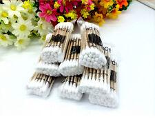 HOT HOA U Cotton Swabs Swab Applicator Q-tip 80 Pieces EXTRA LONG Wood Handle