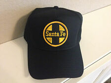 Cap / Hat - Santa Fe Railroad (ATSF )  with Gold and black patch- NEW