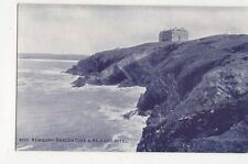 Newquay Beacon Cove & Atlantic Hotel Vintage Postcard 297a