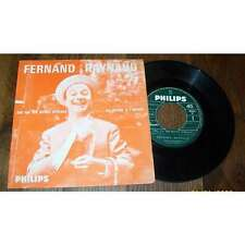 FERNAND RAYNAUD - Cui Cui Les Oiseaux French PS 7' Jukebox Philips