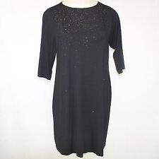 NEW NWT Karen Kane Plus Size Sparkle Beaded Little Black Dress 1X Made in USA